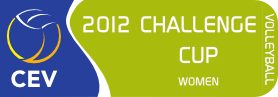 2012 CEV Volleyball Challenge Cup - Women
