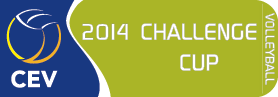 2014 CEV Volleyball Challenge Cup - Men