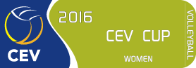 2016 CEV Volleyball Cup - Women