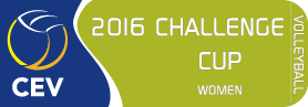 2016 CEV Volleyball Challenge Cup - Women