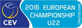 2016 CEV U22 Beach Volleyball European Championship