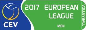 2017 CEV Volleyball European League - Men